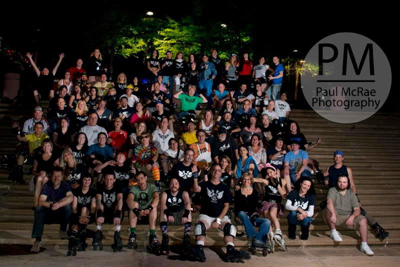 Group picture Houston Epic Skate 2013
